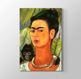 Self Portrait with Monkey 1938