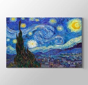 Starry Night - Yıldızlı Gece 1889