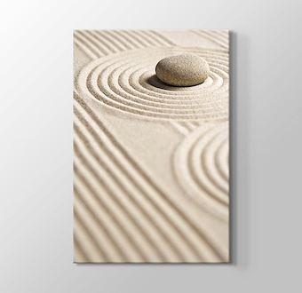 Pebble on Sand I