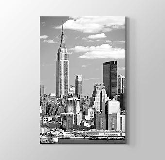 New York - Empire States Building BW