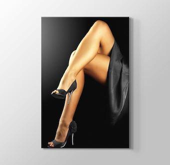 Her Legs Crossed