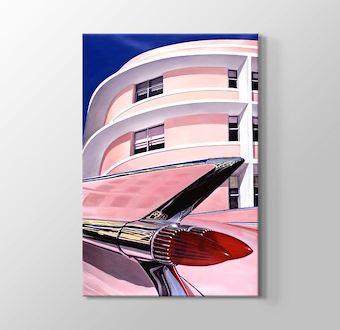 Pembe Cadillac Miami