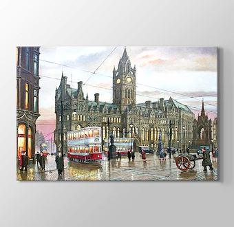 Albert Square Manchester 1935