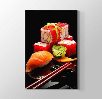 6 Parça Sushi Set