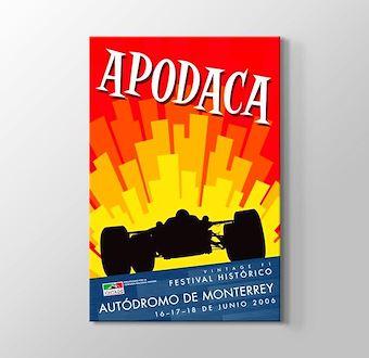 2006 Milano Formula 1 Vintage Posteri
