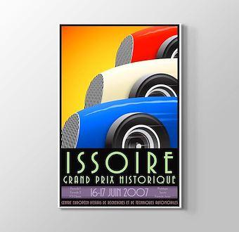 1936 Fransa Formula 1 Vintage Posteri