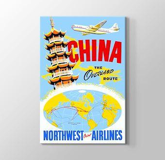 China Vintage Havayolu Posteri