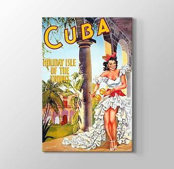 Küba Vintage Posteri