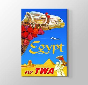 Mısır Vintage Posteri