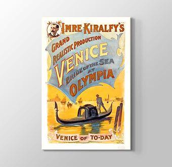 Venedik Vintage Posteri
