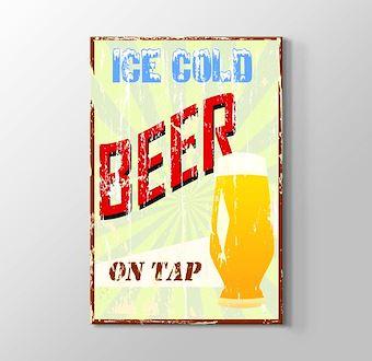 Vintage Bira Afişi