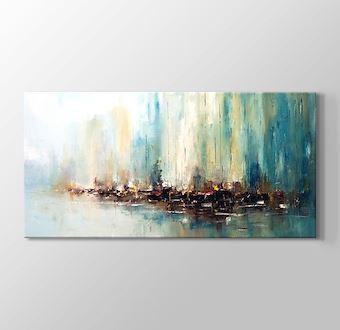 Yağlıboya Soyut Liman