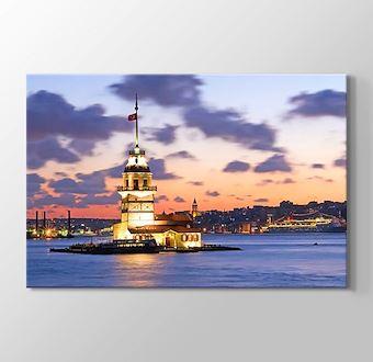 İstanbul - Kız Kulesi Gün Batmadan