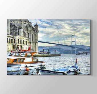 Ortaköy Cami ve Boğaziçi Köprüsü