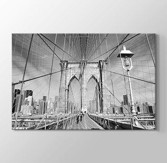 Brooklyn Bridge Siyah Beyaz
