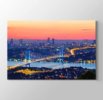 İstanbul - Gün Batımında Boğaziçi