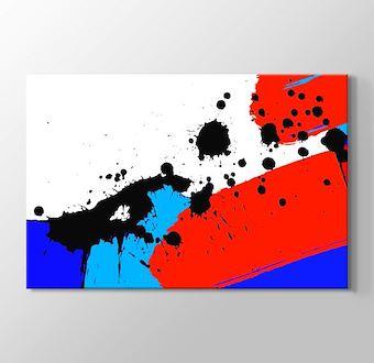 Siyah, Kırmızı ve Mavi Lekeler