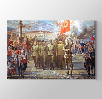 Türk Ordusunun İzmir'e Girişi