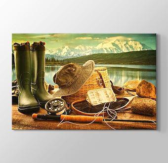 Göl Mazarası ve Balıkçı Ekipmanları