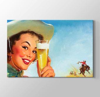 Gil Elvgren - Texas Special Beer 1953