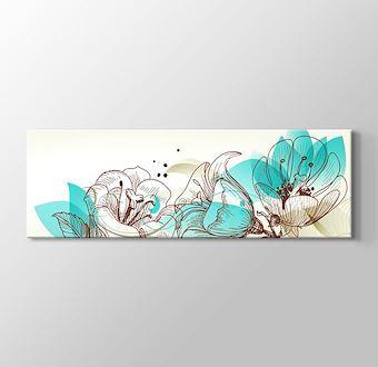 Retro Çiçekler