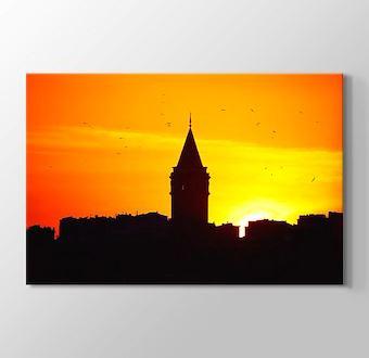 Galata Kulesi Gün Batımı