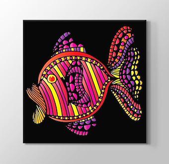 Renklerin Dünyası - Balık