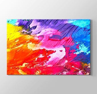 Renkli Dünya Soyut I