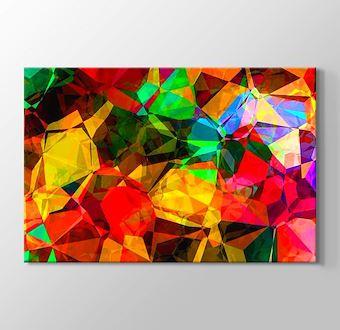 Renkli Dünya Soyut III