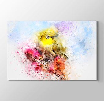 Daldaki Sarı Kuş