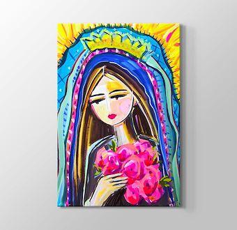 Renklerin Dünyası - Kadın ve Çiçek