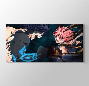 Fairy Tail - Gray Fullbuster vs Natsu Dragneel