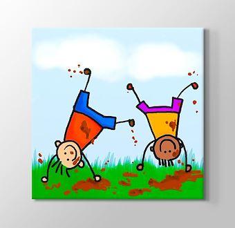 Suluboya Oyun Onayan Çocuklar II