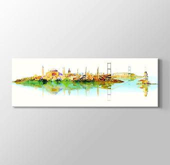 İstanbul Eserleri Çizgisel