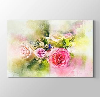 Çizgisel Seri - Çiçekler