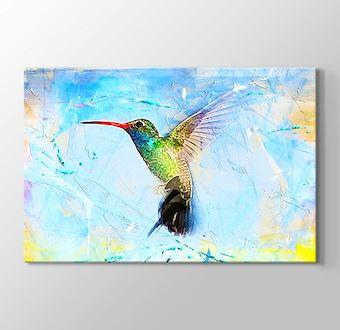 Yağlı Boya Kuş