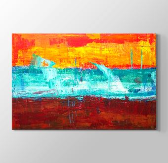Abstract Expressionism Flat Painting