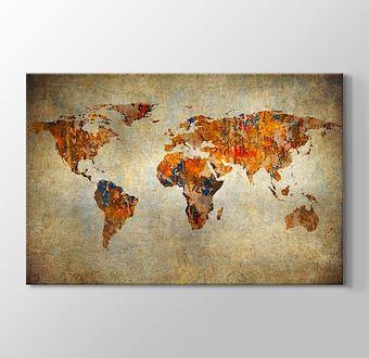 Eskitme Dünya Haritası
