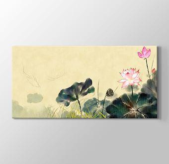 Antik Çiçek Boyama I