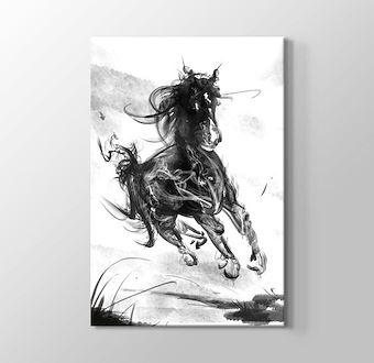 Duman Şeklinde Koşan At