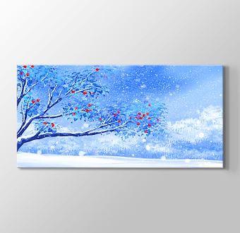 Kış Zamanı Çiçek Açan Ağaç