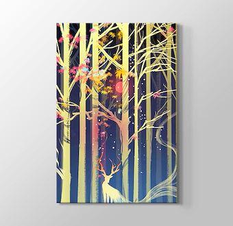 Soğuk Ormandaki Gizemli Geyiğin Işığı