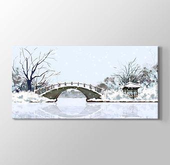 Japonyada Kış ve Göl