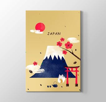 Japonya Fuji Dağı