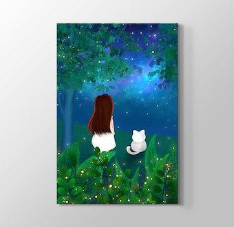 Yıldızlı Gökyüzü - Cat