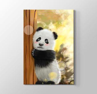 Yavru Panda Gerçekçi Çizim