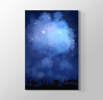 Yıldızlar ve Gökyüzü Mavi