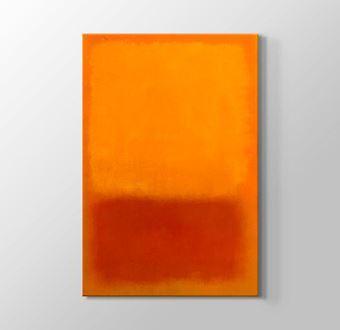 Orange on Red