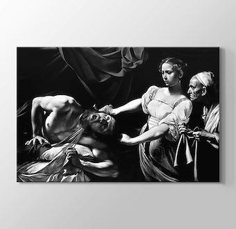 Judith Beheading Holofernes - Black White