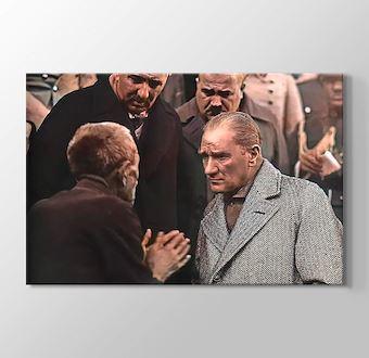 Atatürk - Türkiye'nin gerçek sahibi ve efendisi, gerçek üretici olan köylüdür